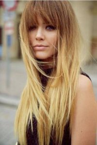 CHIC OMBRE FOR LONG STRAIGHT TRESSES