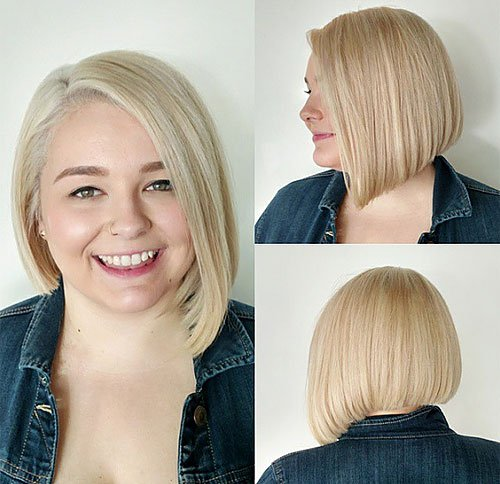 CUTE BOB FOR ROUND FACE