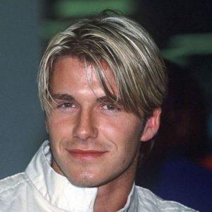 David Beckham Hair Bangs