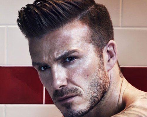 David Beckham Quiff Hairstyle