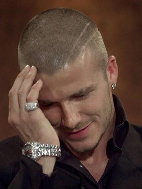 David Beckham Short Haircstyle