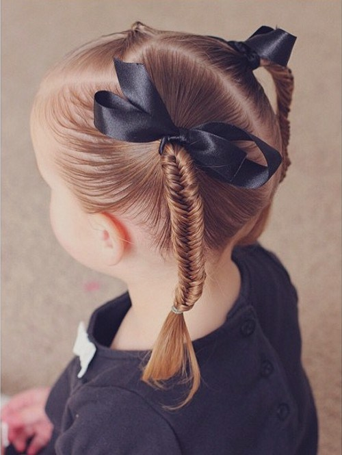 FISHTAIL PIGTAILS GIRLS HAIRSTYLE