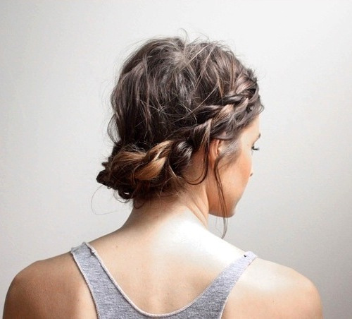 GORGEOUS WORKOUT UPDO