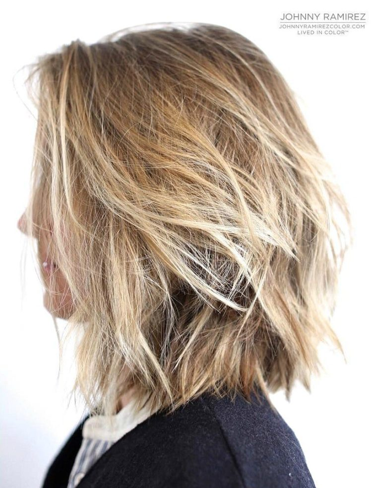 HEAT FREE LAYERED HAIRSTYLE