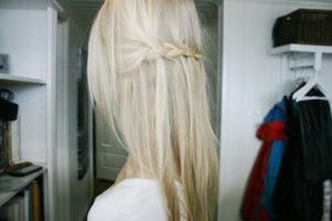 HORIZONTAL WATERFALL BRAID