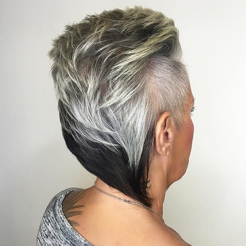 Hairstyles for Women Over 40 Fantastic Faux Hawk