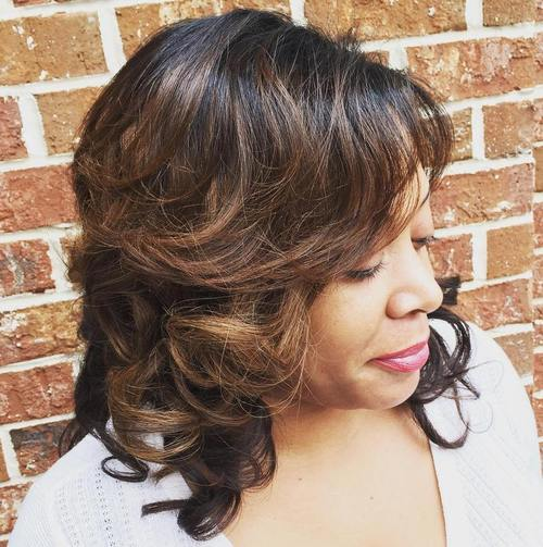 Hairstyles for Women Over 40 Low key Curls and Coifs
