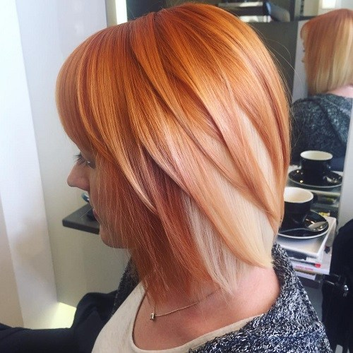Hairstyles for Women Over 40 Orange Crush