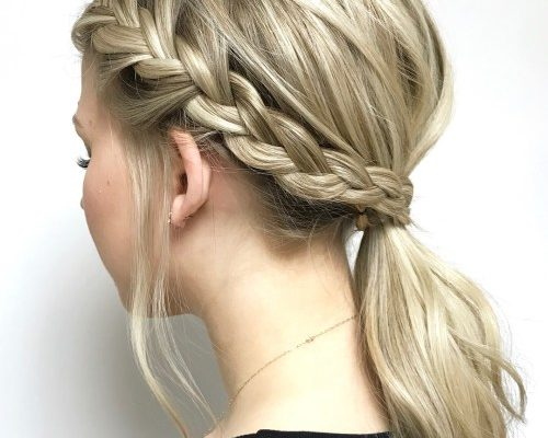 20 Best Hairstyles for School 2019