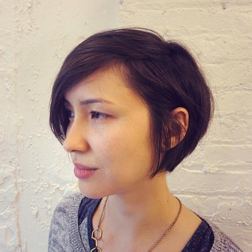 MESSY BOB FOR TEXTURED HAIR