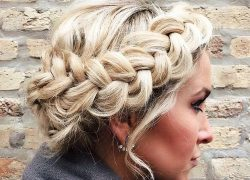 MILKMAID BRAIDS FOR THE WIN