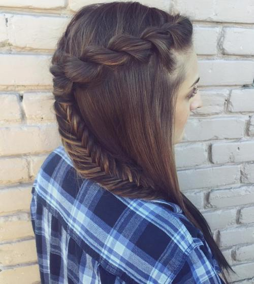 ROPE AND FISHTAIL BRAID