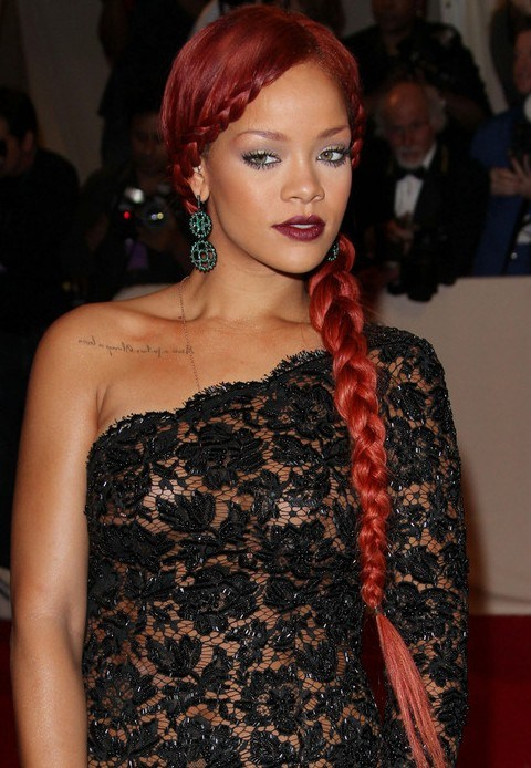 Amazing Braided Hairstyle For Party