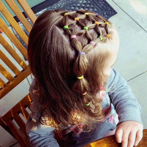 SIMPLE CUTE HAIRSTYLE FOR BABY GIRL