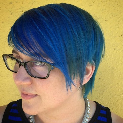 SLEEK BLUE PIXIE