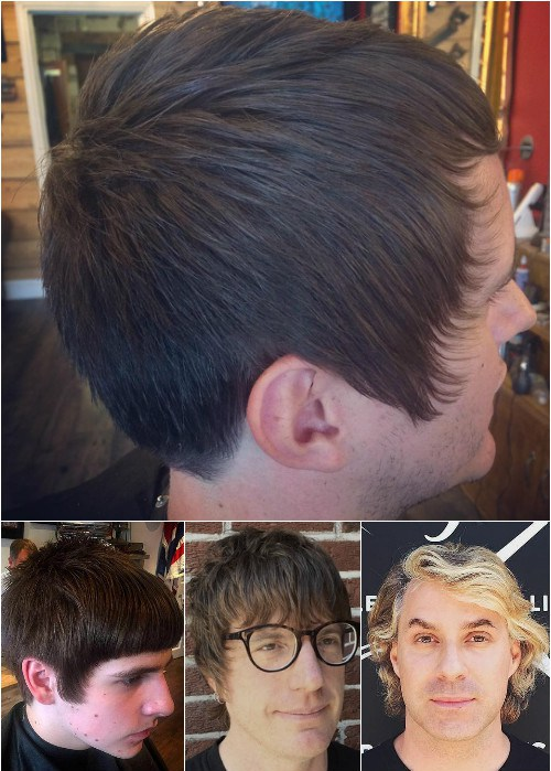 STRAIGHT AND WAVY SHORT SHAG HAIRCUT