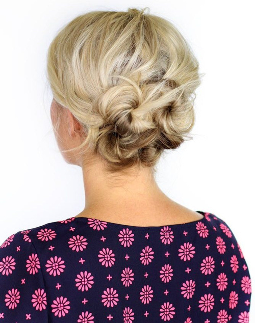 SWEET KNOTTED UPDO