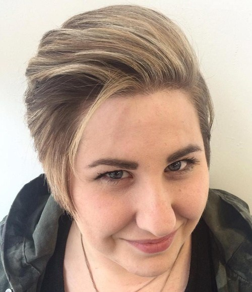 SWEPT BACK PIXIE CUT