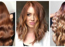 Auburn haircolor trend