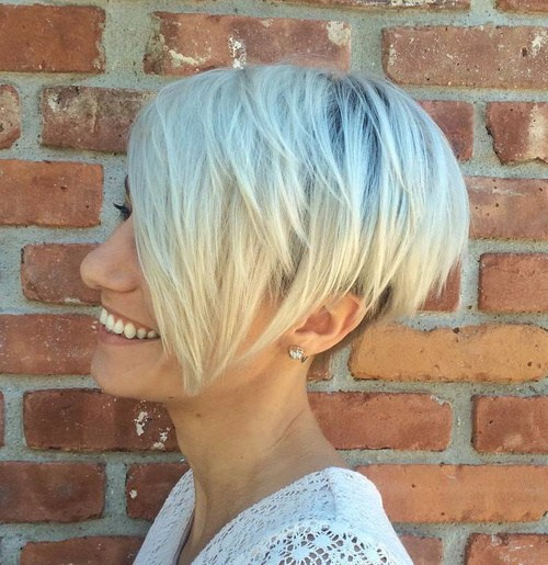 BLEACH BLONDE PIXIE