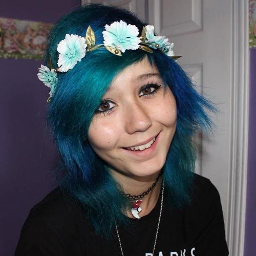 BLUE EMO STYLE