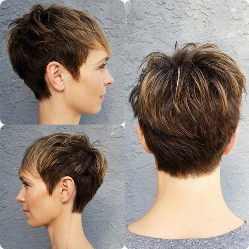 CHOPPED PIXIE FOR THIN HAIR
