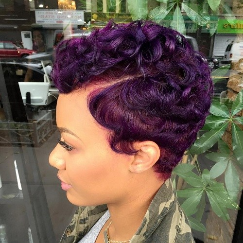 CURLY PIXIE AFRICAN AMERICAN HAIRSTYLE