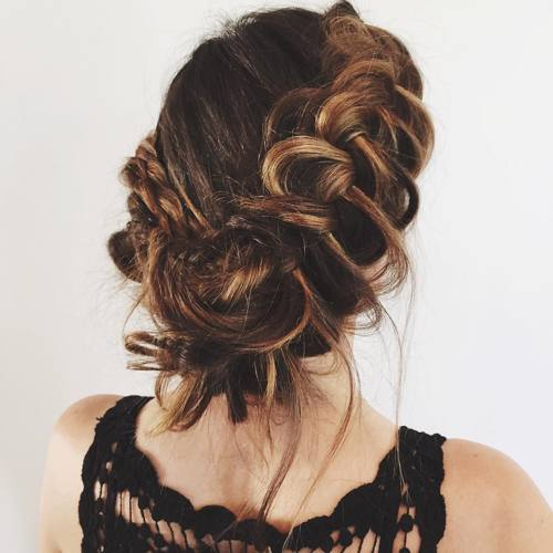 20 Inspiration Low Bun Hairstyles For Wedding 2019 2020: 20 Elegant Hairstyles For Formal Occasion 2020