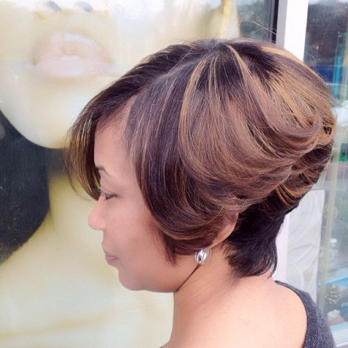 FORMAL HAIRSTYLE FOR INVERTED BOB