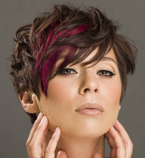 PIXIE WITH CHERRY HIGHLIGHTS
