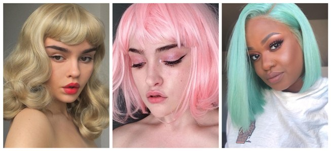 Party wigs trend