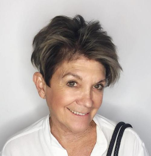 Pixie comb over 50