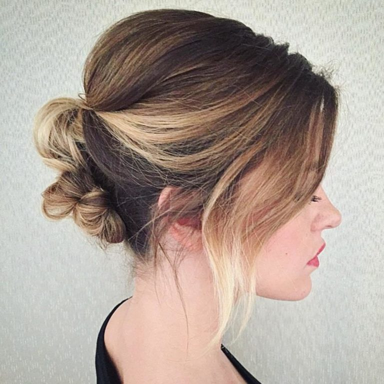 SHORT CLASSIC HAIRSTYLE WITH MODERN TWIST