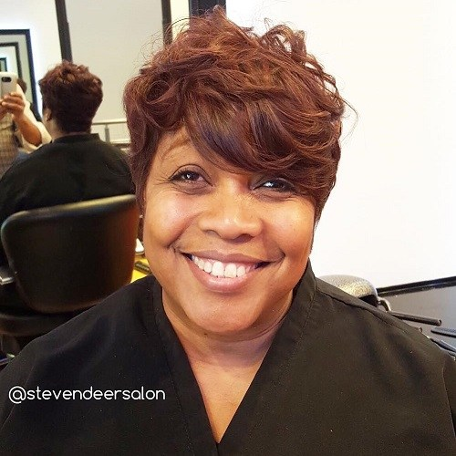 SHORT TOUSLED AFRICAN AMERICAN HAIRSTYLES