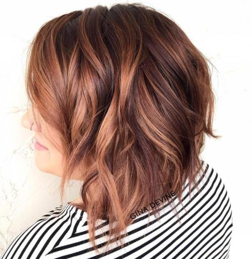 SHOULDER LENGTH CHOPPY HAIR
