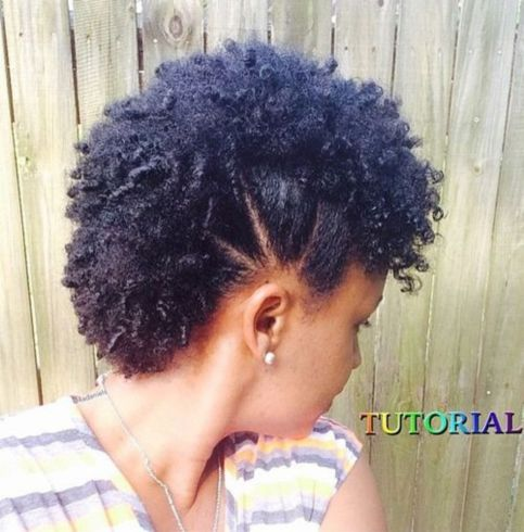 Sectioned mohawk with small coils