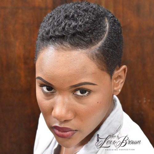 Short Natural Haircuts for Black Women