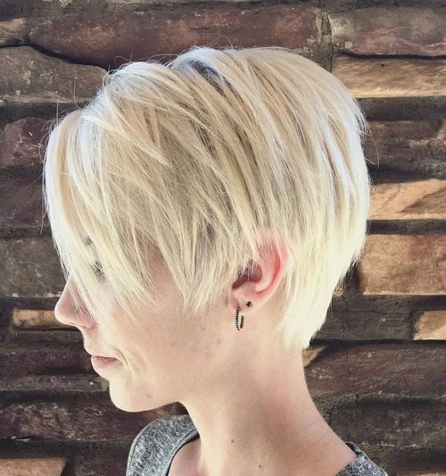 TAPERED PIXIE CUT