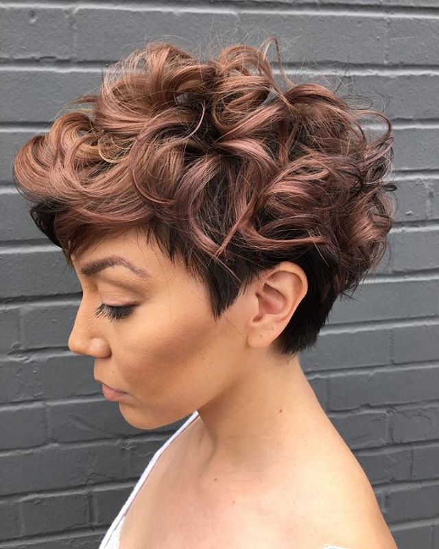 UNDERCUT FOR CURLY HAIR