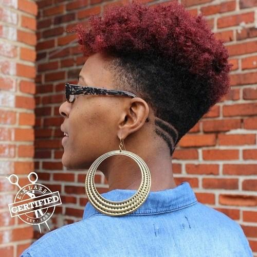UNDERCUT FOR NATURAL HAIR