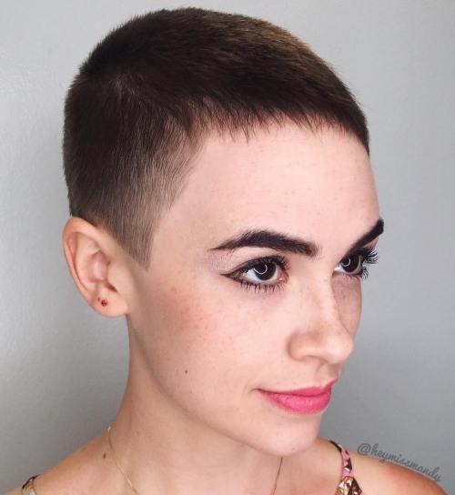 androgynous haircuts