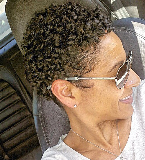 Natural Curly Pixie