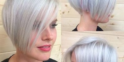 Gorgeous silver pixie for heart shaped faces