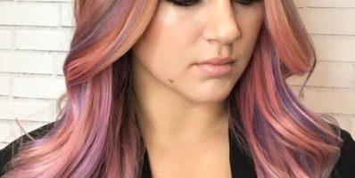 Metallic hair color