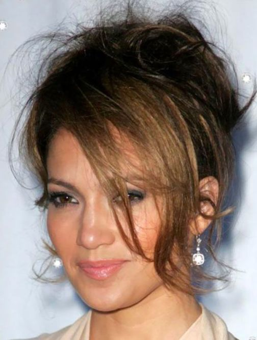 jennifer lopez Voluminous Updo
