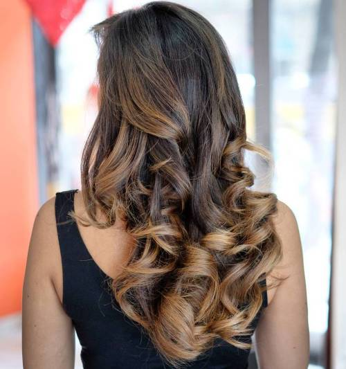Golden bronde balayage hair