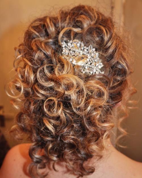 Beautiful Festive Curls