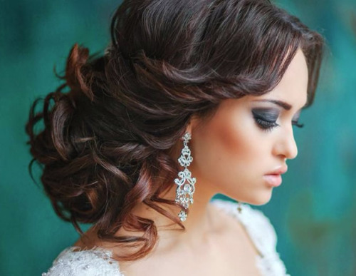 Breathtaking Curly Updo