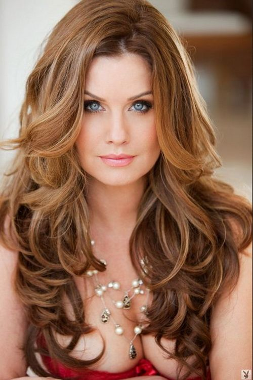curly hairstyles for long hair picture