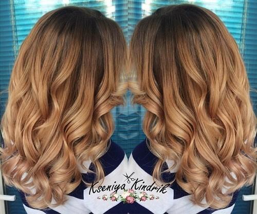 Glamorous Copper Curls